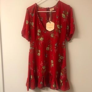 Red Hello Molly Dress